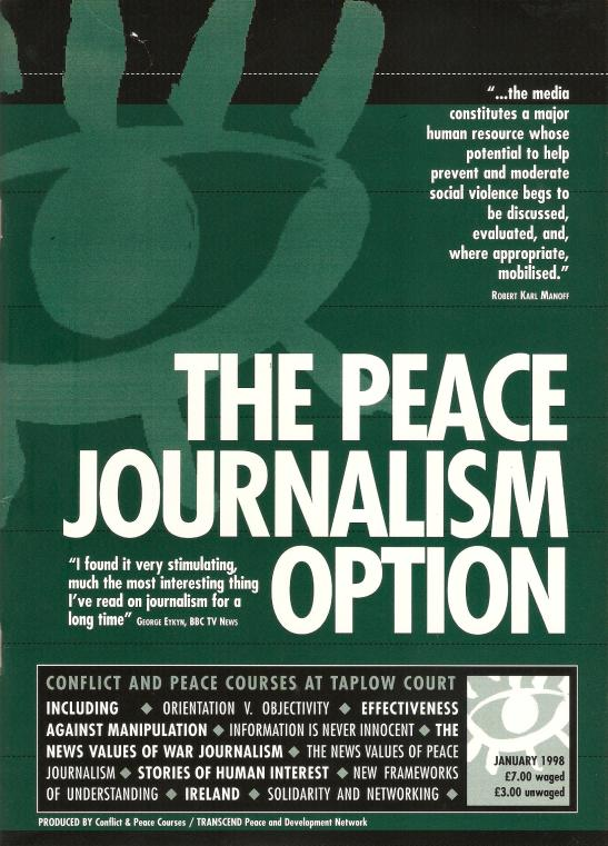 PEACE JOURNALISM OPTION FRONT